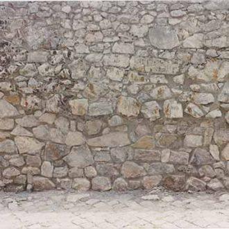 risultato dell'intervento di restauro sulle mura di bassiano