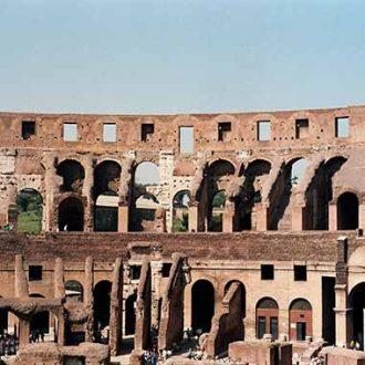 protezione sommitale delle volte del Colosseo con malta LEDAN ADRANAL