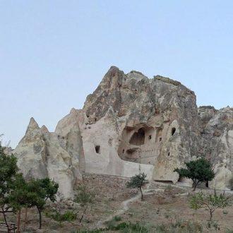Goreme Open Air Museum Karanlik Monastery restored with LEDAN TB1